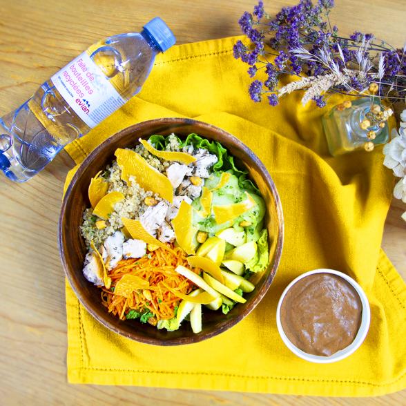Formule Salad Bøwl + Boisson + Dessert