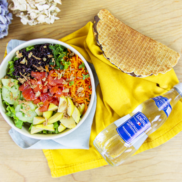 Formule Salad Bøwl 100% + Boisson + Dessert