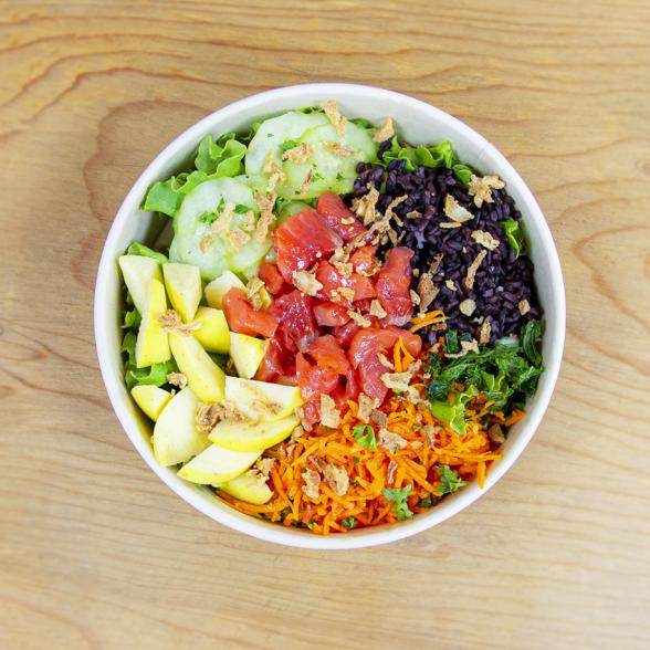 Salad Bowl Gravlax 100%