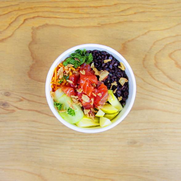 Salad Bøwl Gravlax 50%