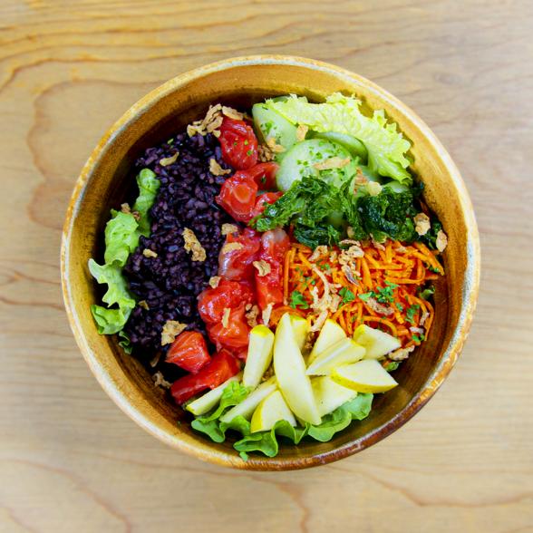 Salad Bøwl Gravlax