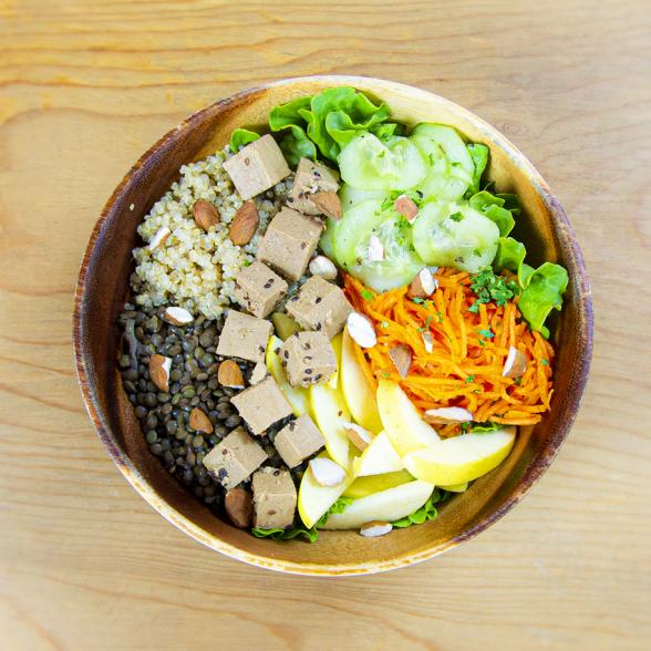 Salad Bøwl Vegetal